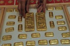 أرتفاع أسعار الذهب لينهي  بذالك موجة خسائر استمرت ثلاثة أعوام