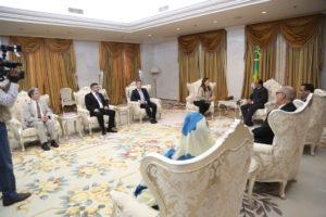 عاجل (خاص) الرئيس عزيز يوجه إنتقادات حادة للبرلمانيين الأوربيين