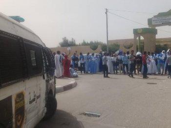 عاجل جرحى في احتجاجات طلابية أمام وزارة التعليم العالي