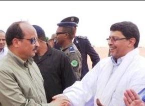 عاجل ولد عبد العزيز يلتقي ولد محم