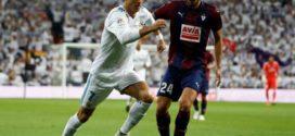 هام ريال مدريد يكتفي بثلاثية في مرمى إيبار