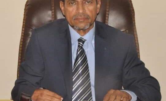 تعزية من معالي وزير الصحة د. محمد نذير حامد لاسرة الدكتور النجيب محفوظ ولد بوحبيني