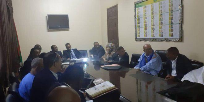 اجتماع لجنة التنسيق والمتابعة لمشروع S3A PGI II