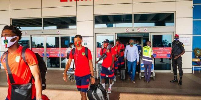 منتخب المرابطون يصل السنغال