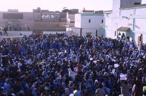 في انواذيبوا    الآلاف في وقفة لنصرة الرسول الكريم