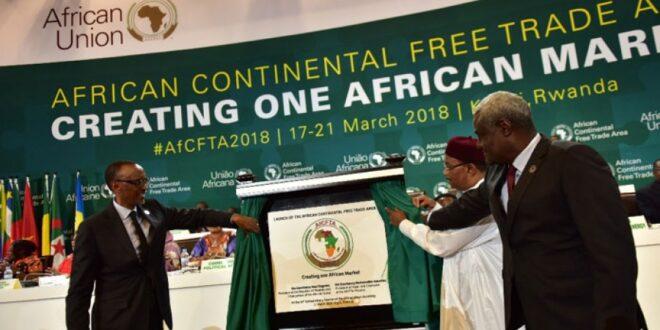 أنطلاق أكبر منظمة التجارة الحرة في العالم