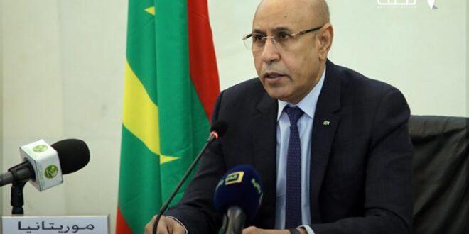 الرئيس غزواني يطلق مشروع الأمن والمراقبة بنواكشوط