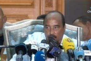 الرئيس السابق ولد عبد العزيز يحضر لمؤتمر صحفي جديد