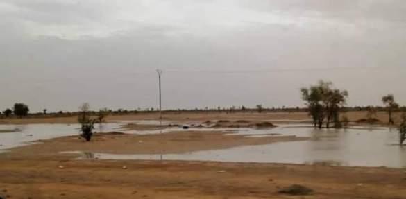 تساقطات مطرية على عدة مناطق من البلاد